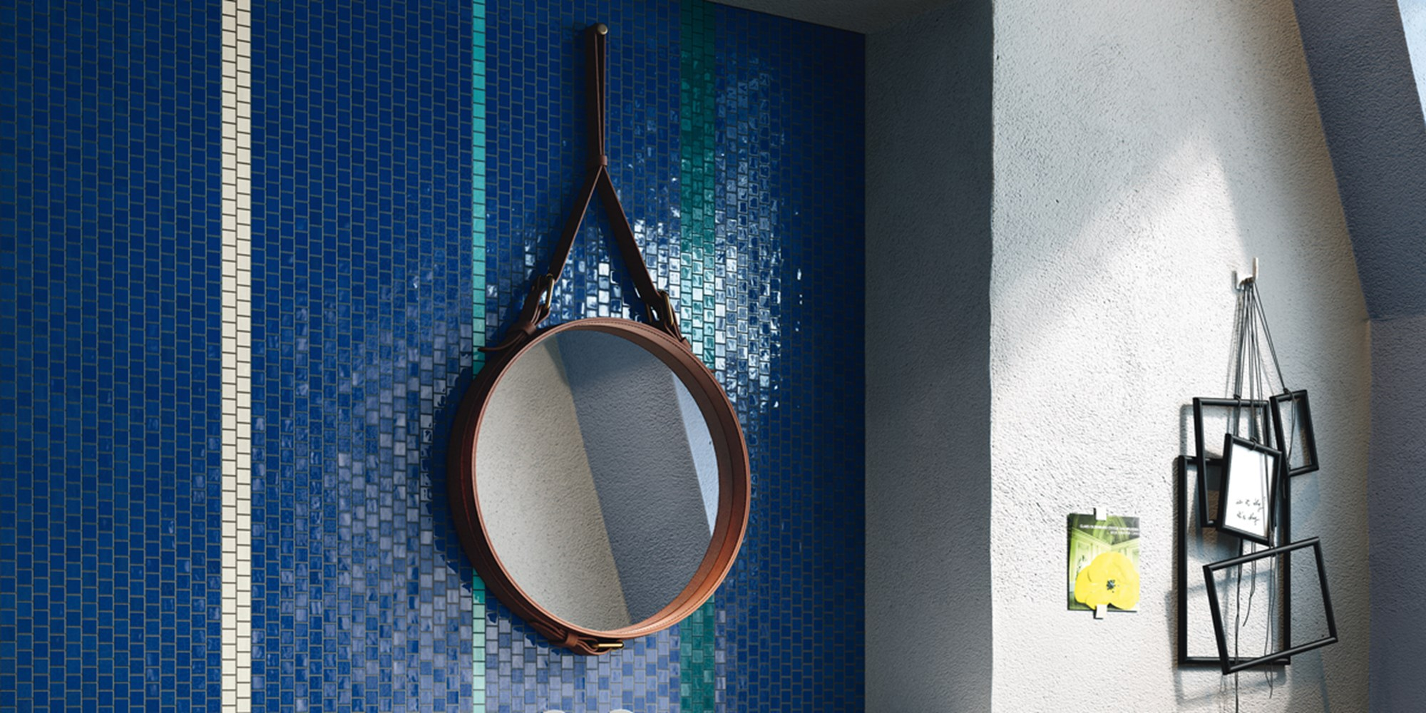 GLASS MOSAIC TILES by Imola