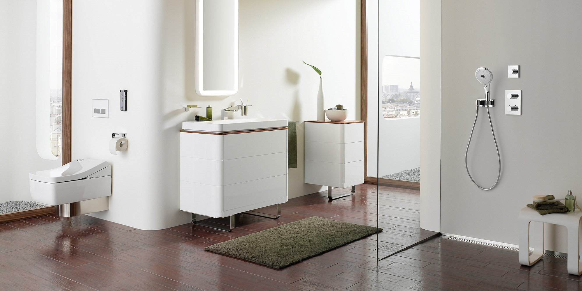 Contemporary Bathrooms by TOTO